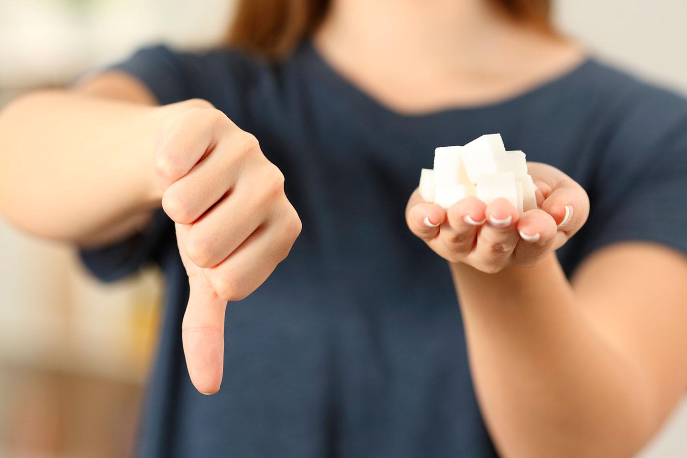 Como uma alimentação sem açúcar beneficia a saúde