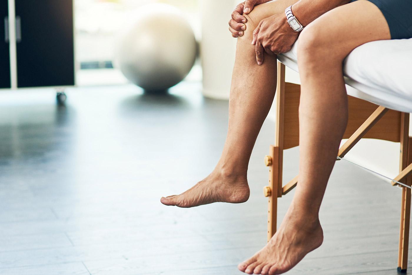 Lesão no joelho: como se proteger durante os treinos